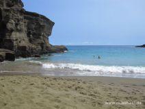 Green Sand Beach auf Big Island
