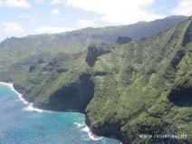 Pali Küste auf Kauai