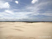 Dünenlandschaft im Worimi Nationalpark