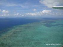 Rundflug von Cairns über das Great Barrier Reef