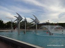 Künstliche Meerwasserlagune in Cairns