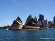 Sydney Opera House vom Schiff aus