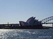 Berühmte Sydney Opera