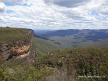 Beim Wandern in den Blue Mountains