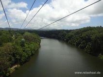 Skyrail Rainforest Cableway kurz vor Kuranda
