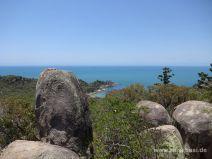 Aussicht auf die Küste auf Magnetic Island