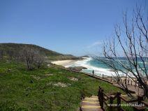 Weg zu den Champagne Pools auf Fraser Island