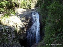 Wasserfall von oben