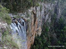 Purlingbrook Falls von oben