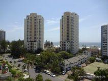 Aussicht vom Hotel in Gold Coast