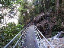 Stahlbrücke auf dem Wonga Walk