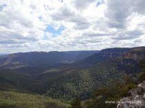 Wälder und Berge der Blue Mountains