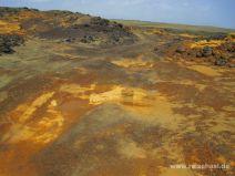 Weg zum Green Sand Beach auf Big Island