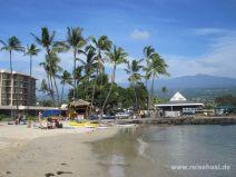 Kamakahonu Beach in Kona auf Big Island