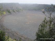 Kilauea Iki Trail im Volcanoes National Park auf Big Island