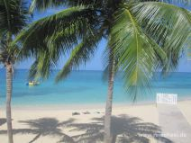Doctor's Cave Beach in Montego Bay in Jamaika