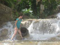 Klettertour den Dunn's River hinauf in Jamaika