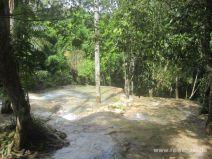 Oberhalb des Dunn's River Wasserfalls in Jamaika