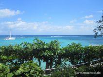 Aussicht vom Silver Seas Hotel in Jamaika