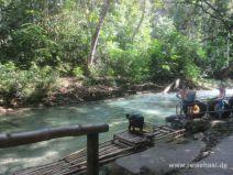 Anlegestelle am White River auf Jamaika