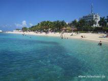 Strand in Montego Bay auf Jamaika