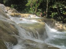 Dunn´s River Falls auf Jamaika