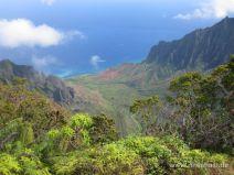 Kalalau Valley auf Kauai