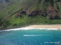 Strand an der Pali Küste auf Kauai