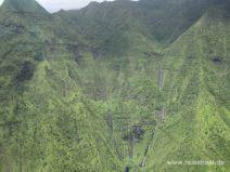 Waialeale Krater auf Kauai