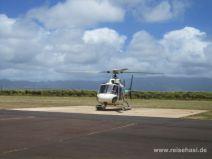 Hubschraubertour auf Kauai