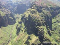 Im Hubschrauber im Waimea Canyon auf Kauai
