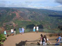 Aussichtsplattform am Waimea Canyon auf Kauai