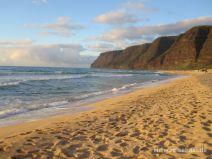 Abendstimmung am Polihale Beach auf Kauai