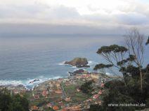 Aussicht auf Porto Moniz