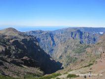 Ausblick vom Pico do Areeiro