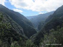 Ausblick entlang der Levada da Janela