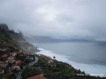 Die Küste im Norden Madeiras