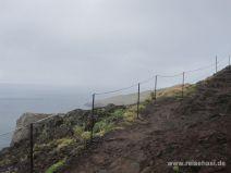 Wanderweg auf der Halbinsel Sao Lourenco