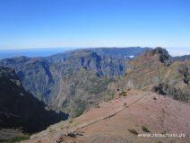 Auf dem Pico do Areeiro