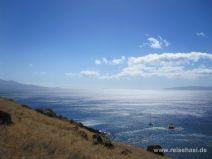 Erste Aussicht auf das Inselchen Molokini