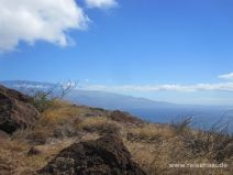 Haleakala kommt in Sicht