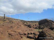 Windkraftanlagen auf dem Berg