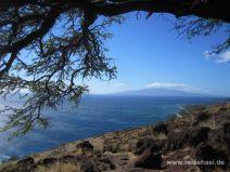 Aussicht auf das Meer und Lanai