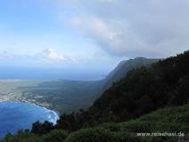 Steile Klippen am Kalaupapa Tal