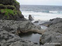 Blick Richtung Meer an den Seven Pools