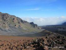 Ausblick auf den Kraterrand