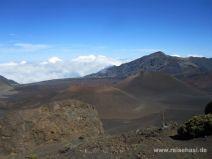 Vulkankegel im Haleakala Krater