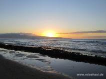 Sonnenuntergang hinter Lanai