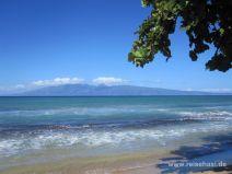 Blick auf Molokai