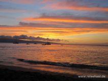 Sonnenuntergang in Kaanapali auf Maui